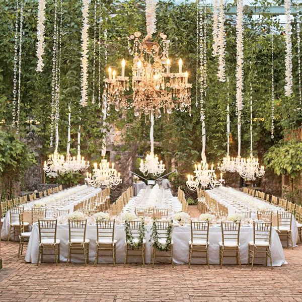 Beautiful Outdoor Wedding Ideas: Beautiful Outdoor Wedding Venue Decor